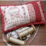 Red Cottage Pincushion