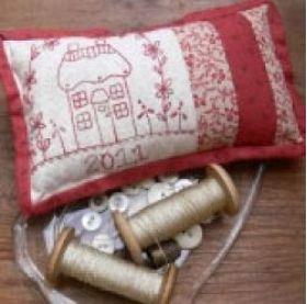 Red Cottage Pincushion