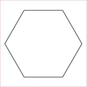 """1"""" Hexagon Papers x 50"""